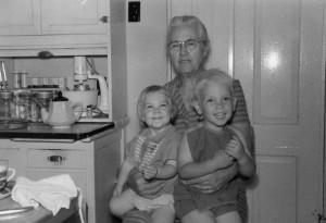 Grandma Crosby, New York State 1967 (Photo: Loretta Koehn)