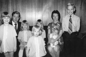 Koehn clan, ca. 1973