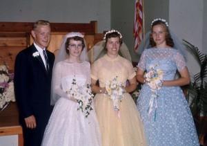 Robert and Loretta Koehn Wedding 1961 (Photo: Unknown)